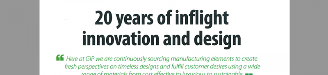 20 years of inflight innovation and design