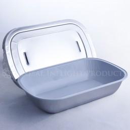 Aluminum Casserole – Rounded Edges
