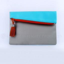 Faux-leather Mini Ipad Bag